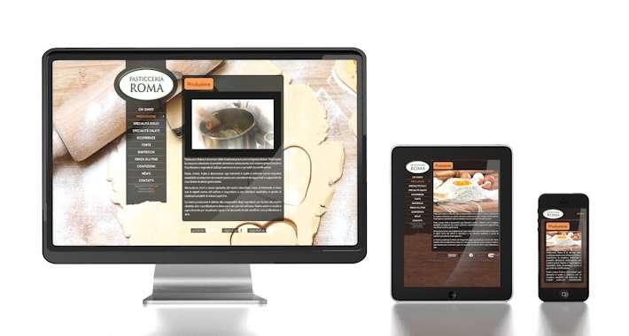 sito web pasticceria roma verona