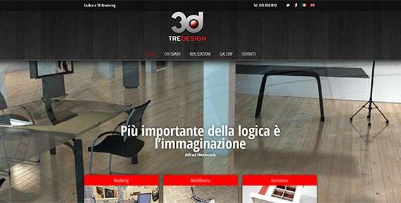 sito web tre design